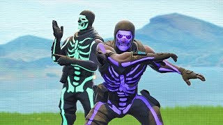 2 skull troopers and 1 game breaking fortnite glitch
