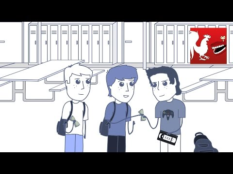 Rooster Teeth Animated Adventures - Stealin' Cable with Michael