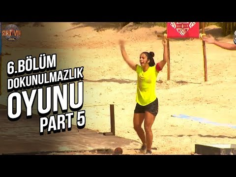 2.Dokunulmazlık Oyunu 5.Part | 6.Bölüm | Survivor Türkiye - Yunanistan
