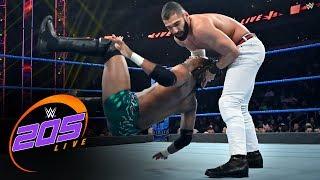"""Isaiah """"Swerve"""" Scott vs. Ariya Daivari: WWE 205 Live, Nov. 1, 2019"""