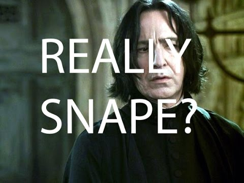 SNAPE IS HARRY POTTER'S FATHER?