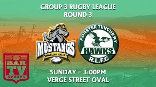 2018 Group 3 RL Round 3 - Macleay Valley Mustangs v Forster Tuncurry Hawks
