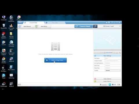 Cara Convert File mp4 ke mp3 Menggunakan Any Video Converter