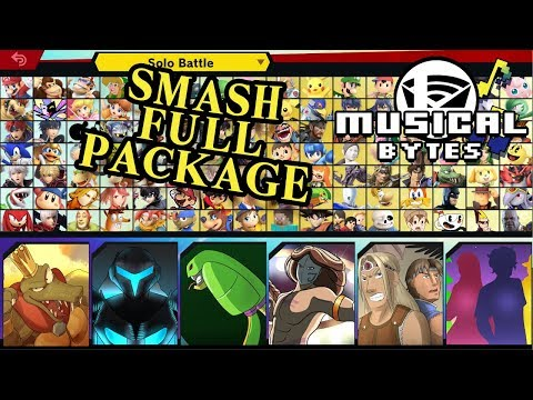 Smash Bros Musical Bytes - Complete Package