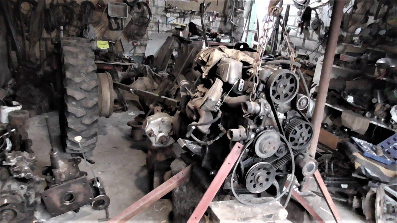 Самодельный Трактор 4 х 4 Турбо-Дизель 2,5 ! Замер Оборотов !