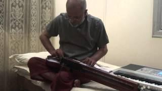 Tere Khayalon Mein(Asha-Geet Gaya Pattharon ne-1964)on Bulbul Tarang/Banjo By Vinay M Kantak