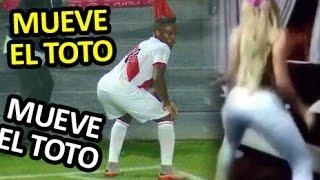 Mueve el Toto   Gol de Farfan   Peru vs Paraguay 13 / 11 / 2015