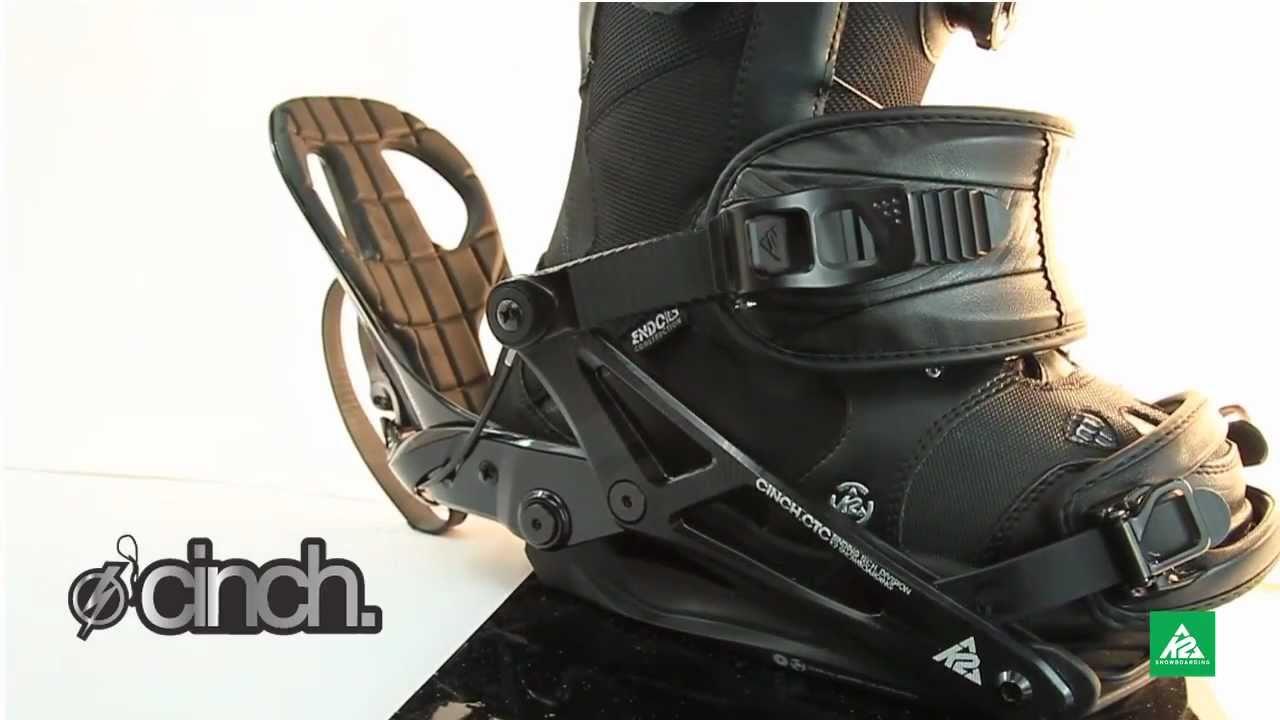 2011 - 2012 K2 Tryst Womens Rear Entry Binding - Flow -3174
