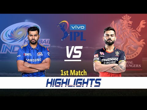 Mumbai Indians vs Royal Challengers Bangalore Highlights | 1st Match | Indian Premier League 2021