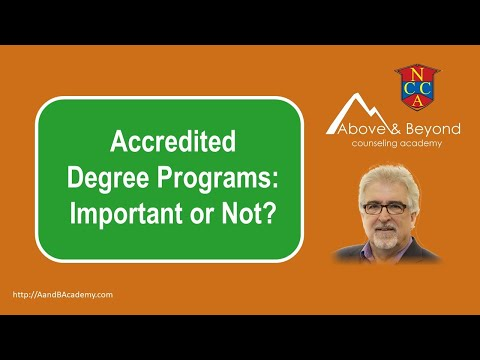 Accredited Degree Programs: Important or Not?