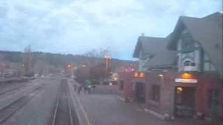 Flagstaff Arizona on Amtrak Southwest Chief