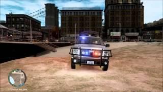 GTA IV : LIBERTY / TEXAS GAME WARDEN FORD F-150