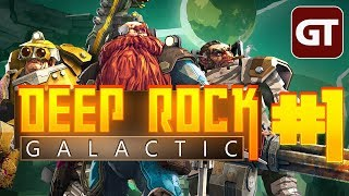 Thumbnail für das Deep Rock Galactic Let's Play