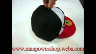 DC Hat cap DC shoes Black Red Hat cap