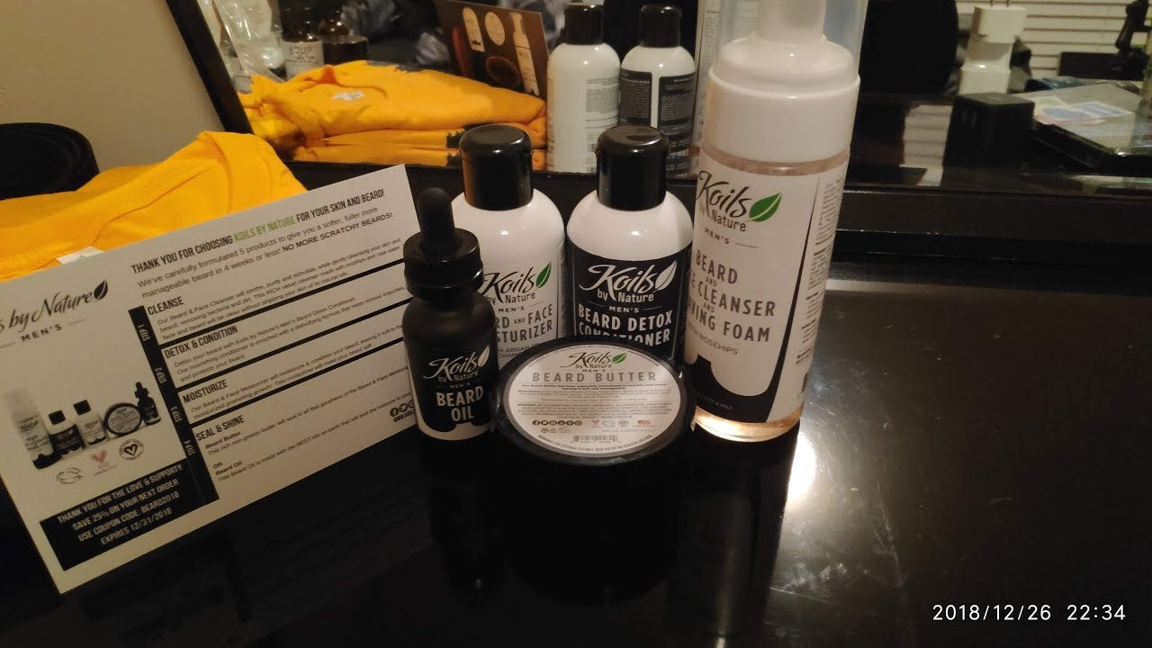 Koils By Nature Beard Kit Part 1