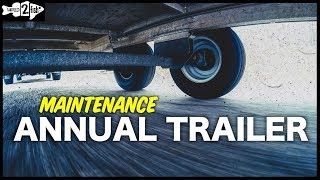 Annual Trailer Inspection Basics - Washing and Lubrication