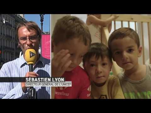 """""""50m-d'enfants-déracinés-dans-le-monde,-c'est-le-chiffre-le-plus-élevé-depuis-la-2ème-guerr..."""