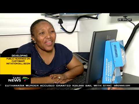 Nomonde Zulu on the Soweto Local Business Imbizo