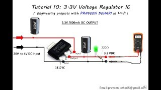 Video 1117, 3.3V Voltage Regulator IC : Tutorial 10 download MP3, 3GP, MP4, WEBM, AVI, FLV Oktober 2018