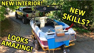 Rebuilding A Super Cheap Wrecked Boat Part 6
