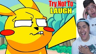 Try Not To Laugh! Pokemon Parody Edition