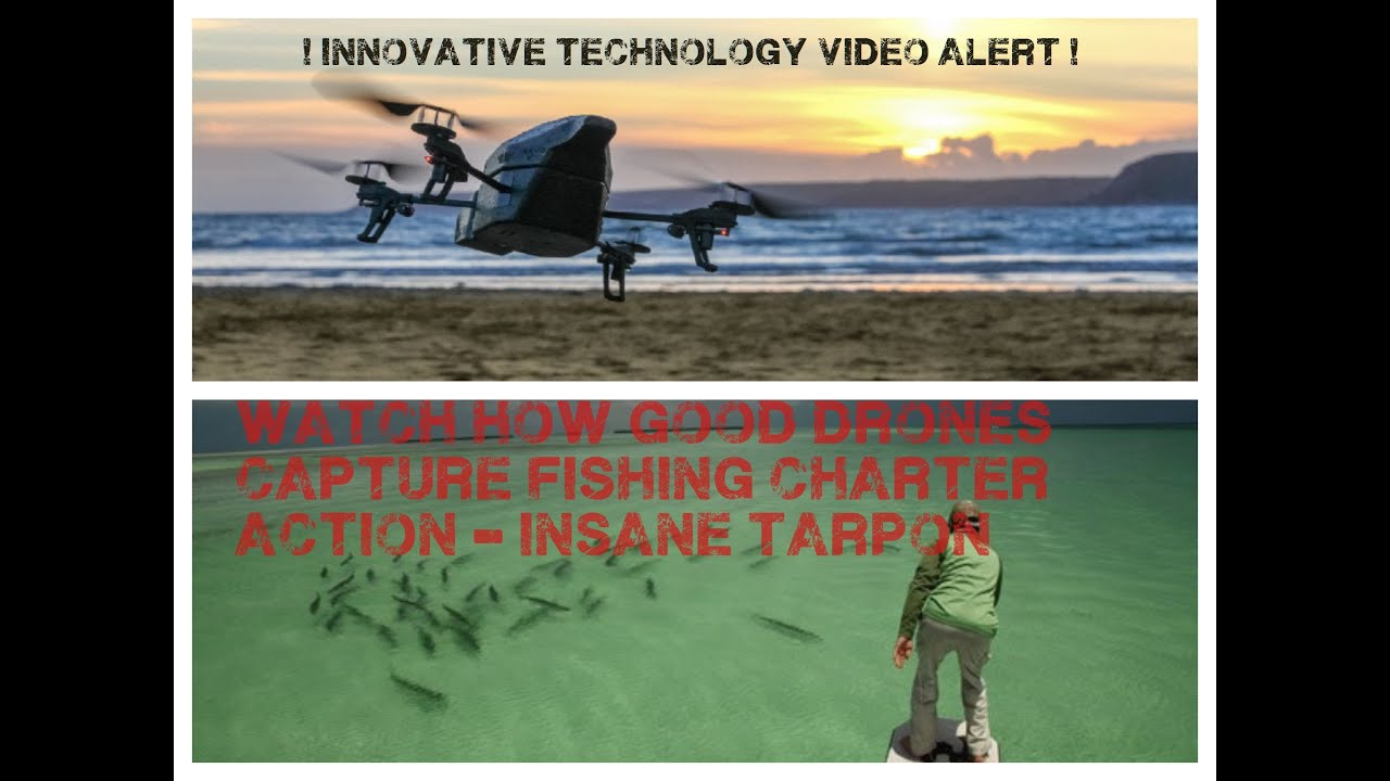 Drones and Sports-fishing are HOT right now
