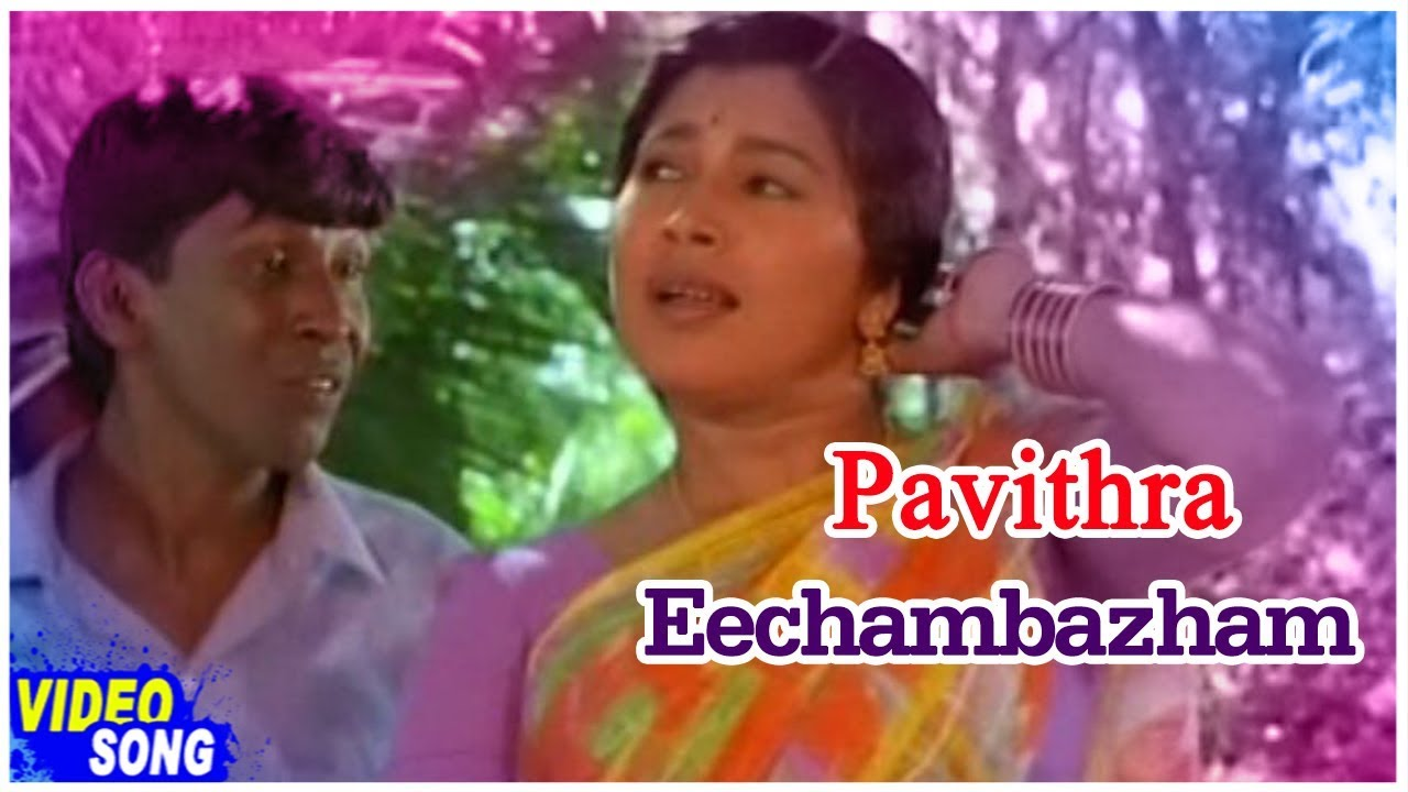 Eechambazham Song | Pavithra Tamil Movie | Vadivelu | Kovai Sarala | A R  Rahman | Music Master