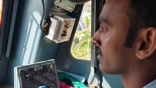 How does Loco Pilot works  : Riding Locomotive between Perambur and Avadi railway station
