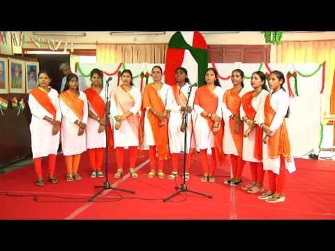 President Celebrating Independence Day with Sanskaar School at Rashtrapati Bhavan - 15-08-16
