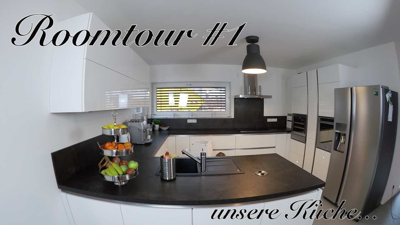 roomtour 1 unsere k che xxl aufbau organisation youtube. Black Bedroom Furniture Sets. Home Design Ideas