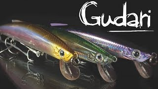 NEW Slow Sinking GUDARI 170  de spanish Lures