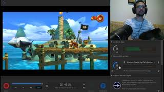 082 Donkey Kong Country Returns - Mirror Mode - 2-2 Sloppy Sands - 200%