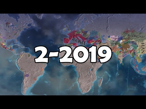 EU4: 2 to 2019 Year Timelapse AI Only