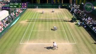 2015 Day 12 Highlights, Houdet & Kunieda vs Fernandez & Peifer semi-final