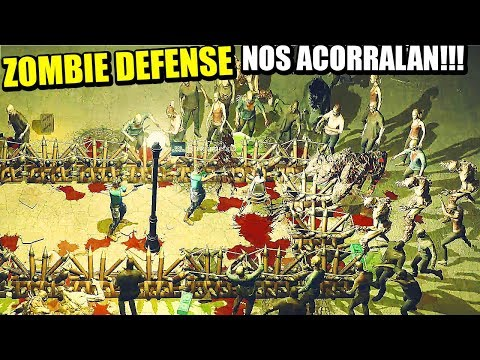 DEFENSA ANTIZOMBIES - YET ANOTHER ZOMBIE DEFENSE HD | Gamepl