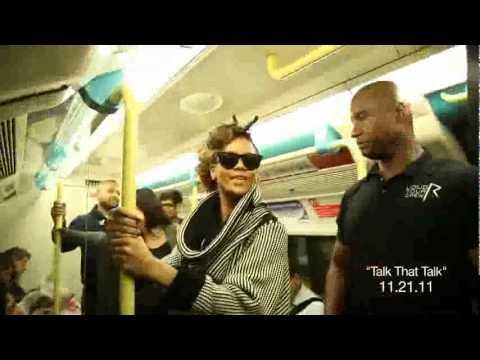 Rihanna Rides Subway to London Show