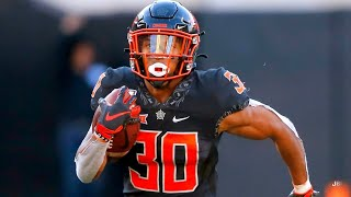 College Football's LEADING Rusher 💯 || Oklahoma State RB Chuba Hubbard 2019 Highlights ᴴᴰ