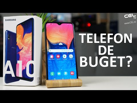 Samsung Galaxy A10 | Juniorul familiei Samsung | Unboxing Review CEL.ro