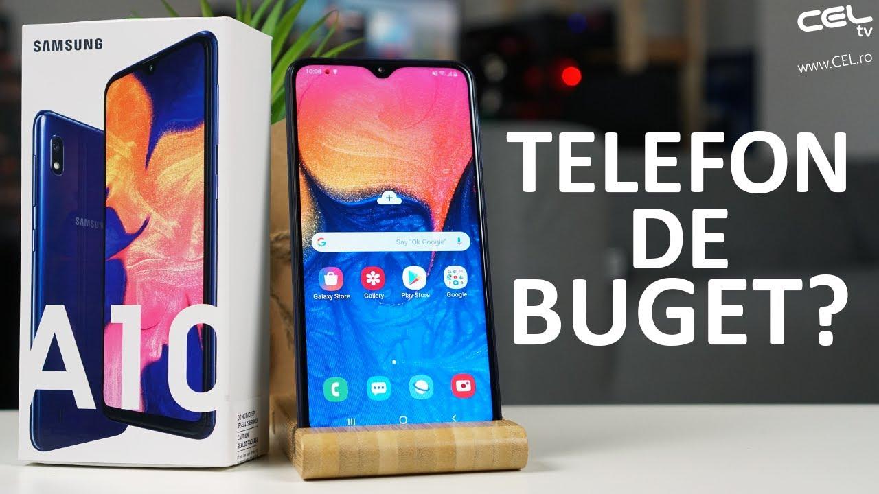 Samsung Galaxy A10 | Juniorul familiei Samsung | Unboxing Review CEL.ro