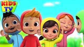 Five Little Monkeys   Boom Buddies   Nursery Rhymes & Baby Songs - Kids TV