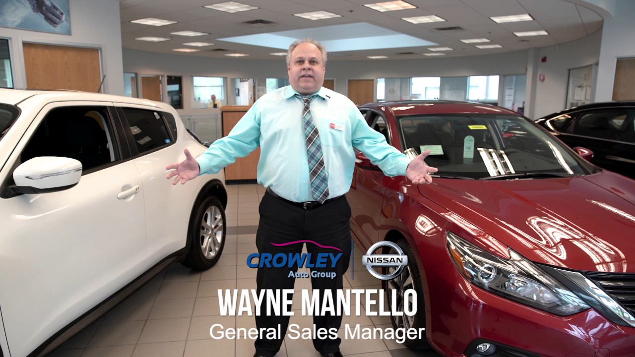 Lovely Here At Crowley Nissan, We Have It ALL! Stop By And See Why! Bristol, CT