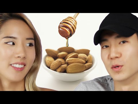 People Try Flavored Almonds