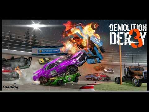 СРАЗИЛСЯ СО СВОИМ ДРУГОМ В ДЕРБИ! Demolition Derby 3