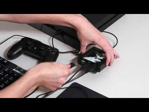 how to run keyboard and mouse on ps4