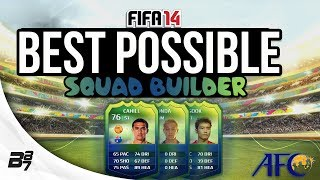 BEST POSSIBLE WORLD CUP AFC TEAM w HONDA FIFA 14 Ultimate Team Squad Builder