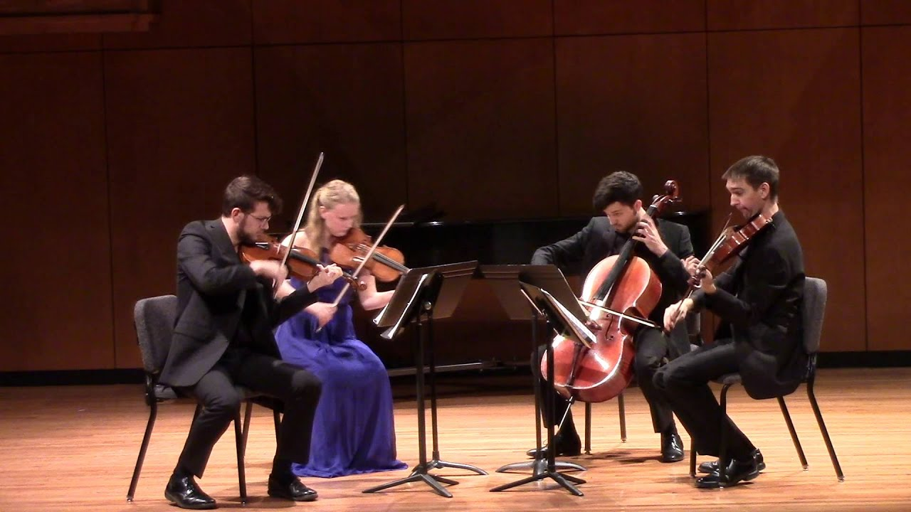 Bartok String Quartet No. 5, Mvmt. 1