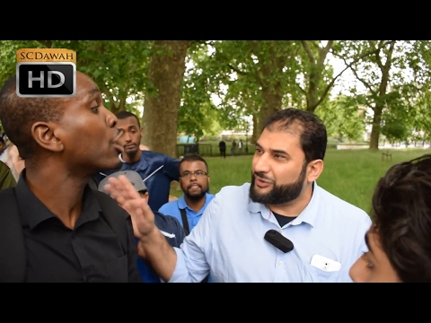 P2 - We don't want an answer! Adnan vs Godwin and Co | Speakers Corner | Hyde Park