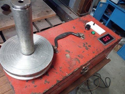 My DIY rotary welding table - YouTube