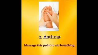 Acupressure Points For Asthma, Cold, Migraine, Arthritis, Insomnia, Depression, Nausea, By HTTF