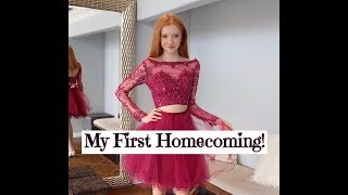 My First Homecoming ~ Dress Try-On Vlog! TONS of dresses! 💕👗